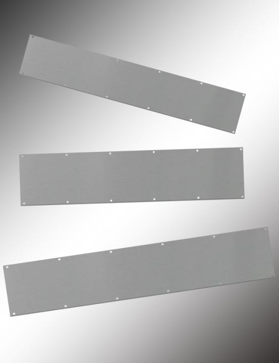 BKICK834, BKICK1034, Metal Kick Plates