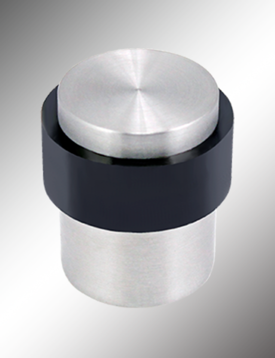 Cylindrical Floor Mount Door Stops