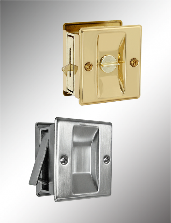 Privacy/Passage Sliding Door Lock