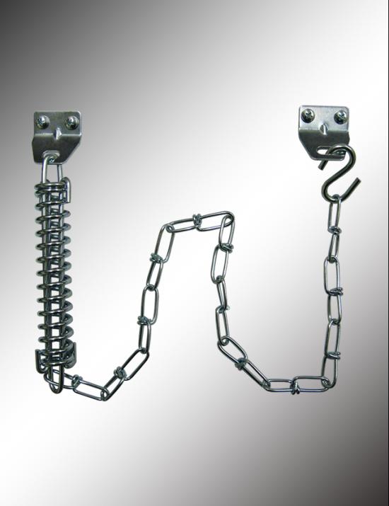 Single Spring Crash Chain Door Guard, CCD30