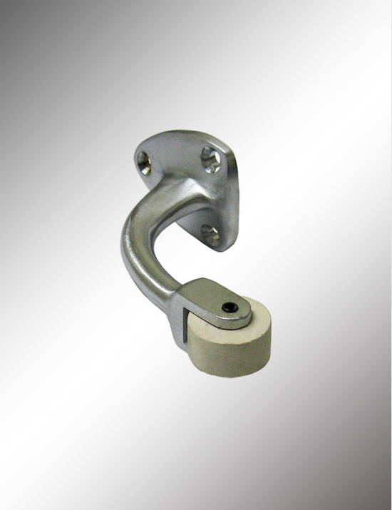 Solid Brass Roller Stop, SRB82 & CURB19